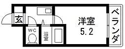 高井田ル・グラン[405号室号室]の間取り