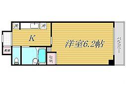 東京都杉並区上高井戸3丁目の賃貸マンションの間取り
