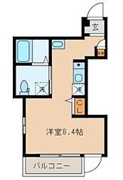 東京都豊島区南池袋1丁目の賃貸アパートの間取り