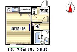 桜台コートハウス[302号室]の間取り