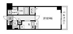 エトールX[4階]の間取り