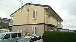 愛知県あま市木田徳左の賃貸アパートの外観