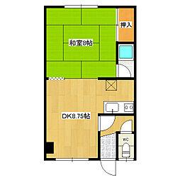 小野マンション[2階]の間取り