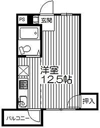 たちばなマンション[305号室]の間取り