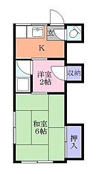 相川店舗[2階]の間取り