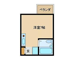オフィス新三和[2階]の間取り