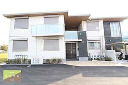 奈良県葛城市南道穂の賃貸アパートの外観