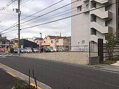前面歩道付き公道