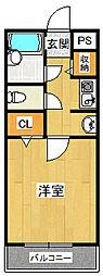 ステラハウス4-300[2階]の間取り