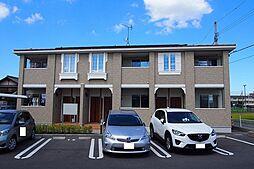 香川県丸亀市郡家町の賃貸アパートの外観