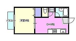 コンフォート湘南[2階]の間取り