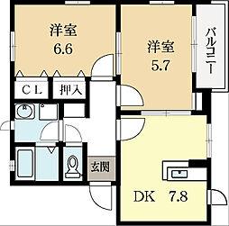 サクラ21[2階]の間取り