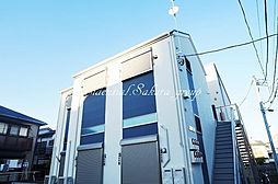神奈川県横浜市保土ケ谷区星川3丁目の賃貸アパートの外観