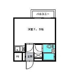 千葉県市川市新浜1丁目の賃貸マンションの間取り