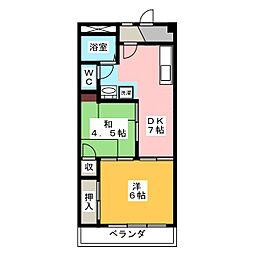 萬屋ビル[8階]の間取り