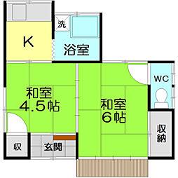 [一戸建] 東京都立川市幸町5丁目 の賃貸【/】の間取り
