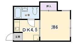 藤森駅 3.3万円