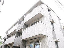 東京都足立区舎人1丁目の賃貸アパートの外観