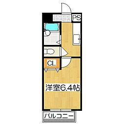D's AQUILA[1階]の間取り