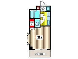 戸田公園ステイタス[4階]の間取り
