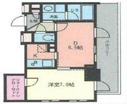 ドゥーエ幡ヶ谷[7階]の間取り