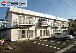 コーポ賀智里[1階]の外観