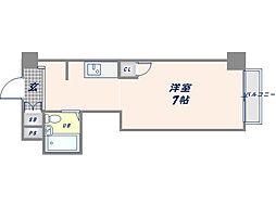 エレメント原宿[4階]の間取り