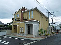 愛媛県松山市福音寺町の賃貸アパートの外観