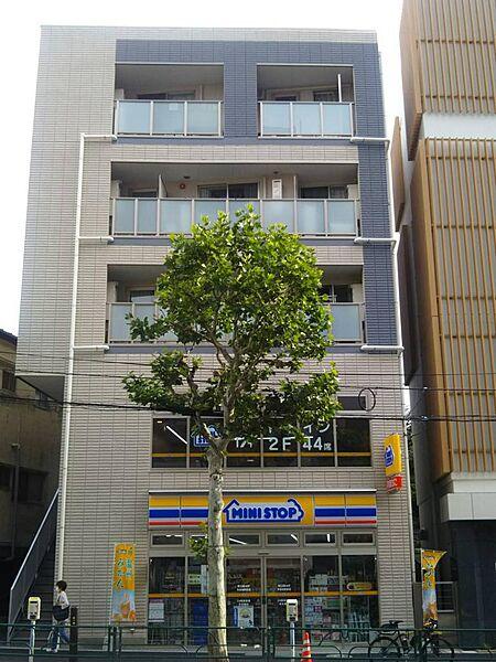 ピークサイドレジデンス早稲田[3階]の外観