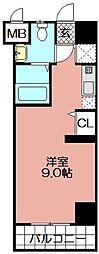 エンクレスト舞鶴(603)[603号室]の間取り