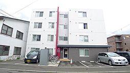 北海道札幌市豊平区平岸一条14丁目の賃貸マンションの外観