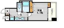 ランドマークシティ大阪城南Ⅱ[8階]の間取り