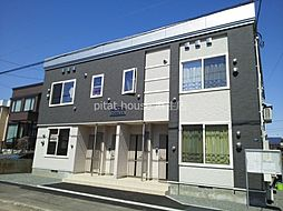 札幌市営南北線 麻生駅 バス15分 新琴似6条13丁目下車 徒歩4分の賃貸アパート