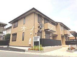 兵庫県三木市志染町西自由が丘1丁目の賃貸アパートの外観