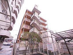 岡山県岡山市北区中島田町1丁目の賃貸マンションの外観