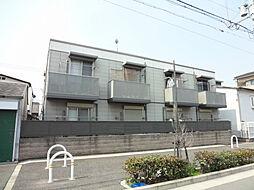 大阪府堺市堺区中田出井町3丁の賃貸アパートの外観