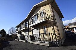 栃木県宇都宮市日の出2丁目の賃貸アパートの外観