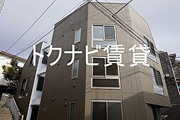 東京都練馬区石神井台7の賃貸マンションの外観