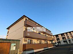 カナディアンコート南吉成B[2階]の外観