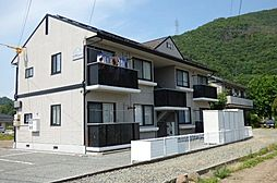 長野県千曲市大字打沢の賃貸アパートの外観