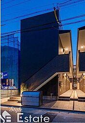 愛知県名古屋市西区二方町の賃貸アパートの外観