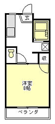 集ハイツ[2階]の間取り
