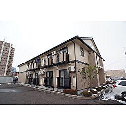 福島県郡山市並木3丁目の賃貸アパートの外観