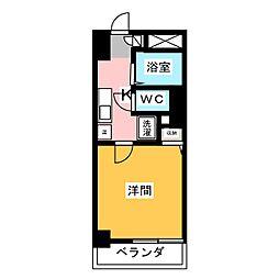 アーバンポイント川名本町[2階]の間取り