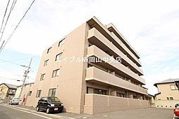 岡山県岡山市北区西崎1丁目の賃貸マンションの外観