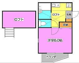 nikora[2階]の間取り