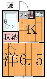 ル・ドルトア大塚[1階]の間取り