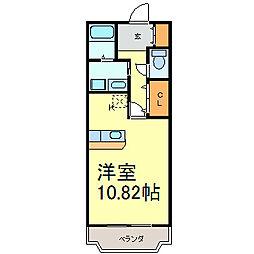 ラッフィナート[1階]の間取り