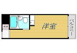 スカイコート西新宿[5階]の間取り