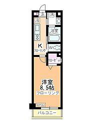 川鶴コワン[2階]の間取り